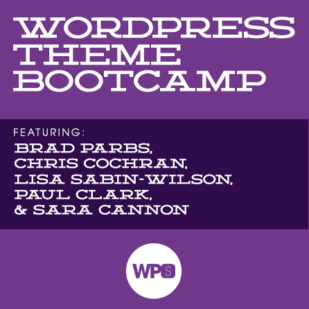 WordPress Theme Bootamp