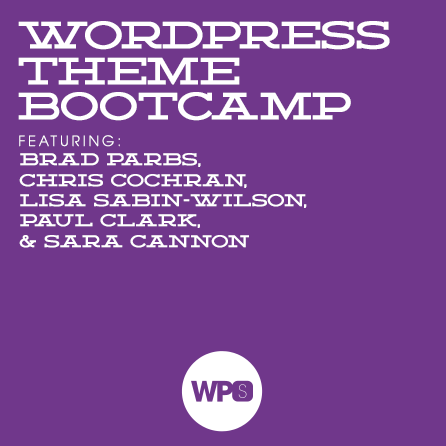 WordPress Theme Bootcamp