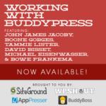 Working with BuddyPress