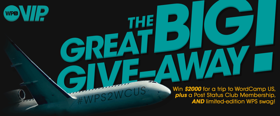 Introducing the next great big give-away