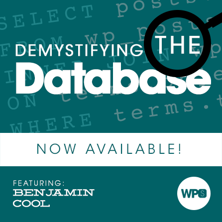 Demystifying the Database with Benjamin Cool