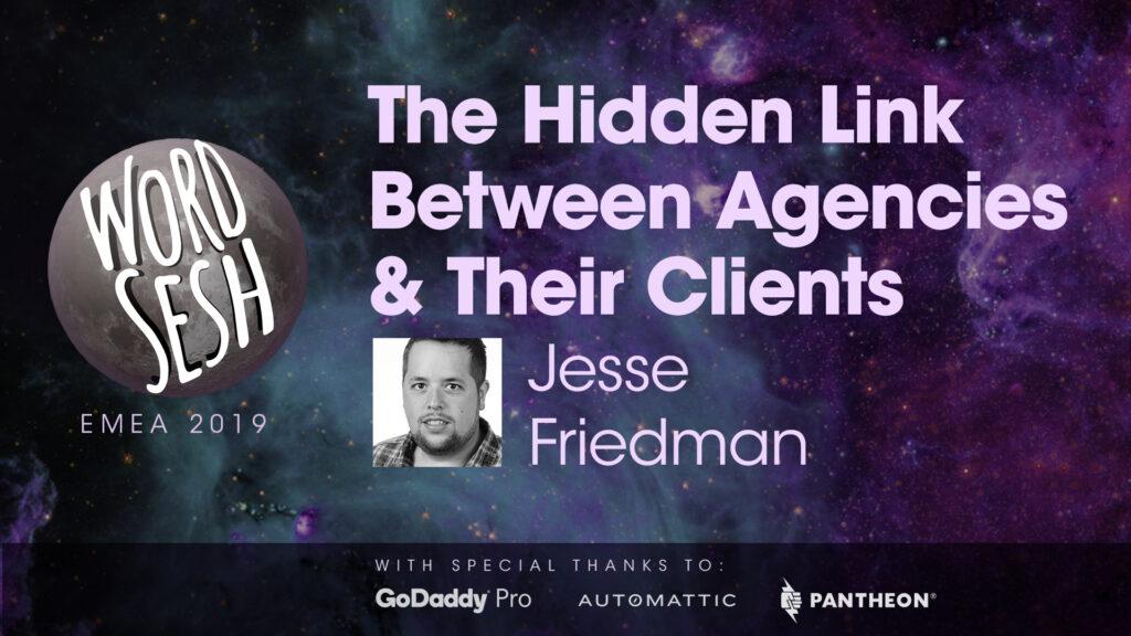 "Title slide for ""Jetpack, the Hidden Link Between Agencies & Their Clients"""