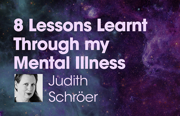 """Title slide for """"8 Lessons Learnt Through my Mental Illness"""""""