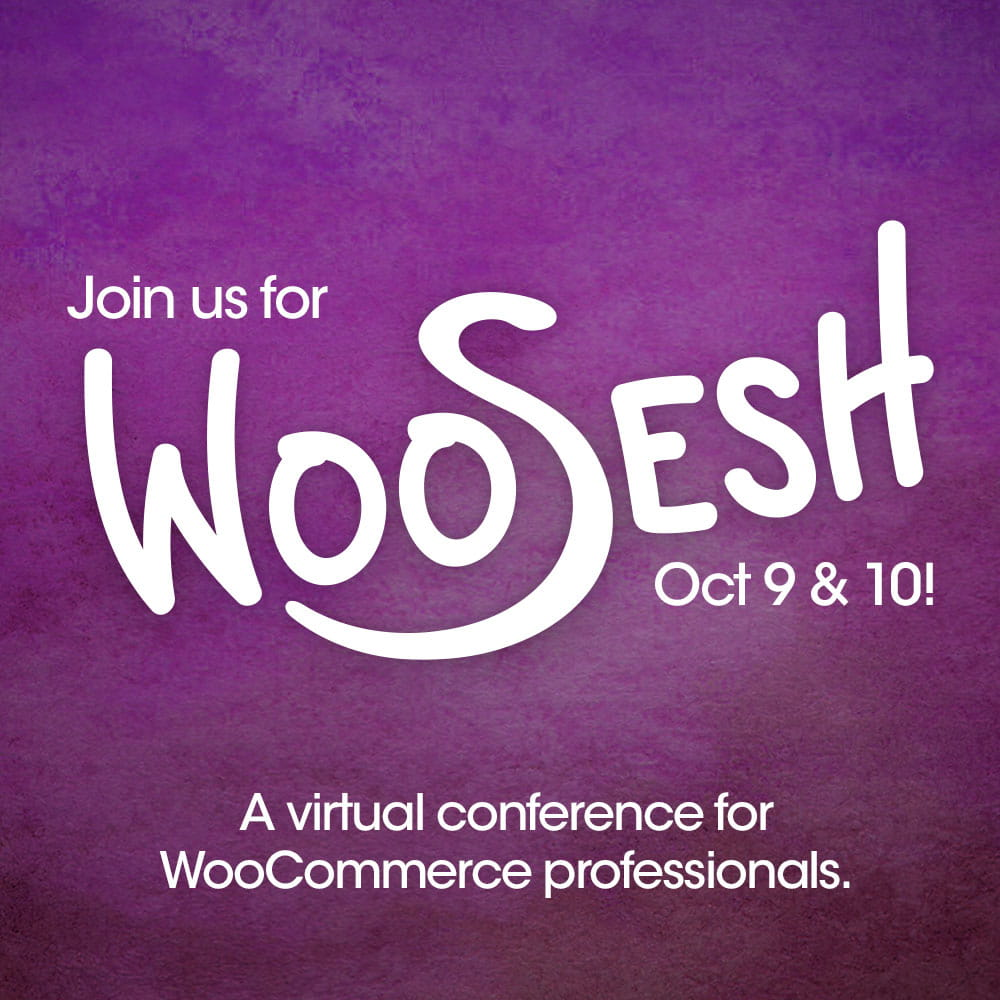 WooSesh, Oct 9-10, 2019