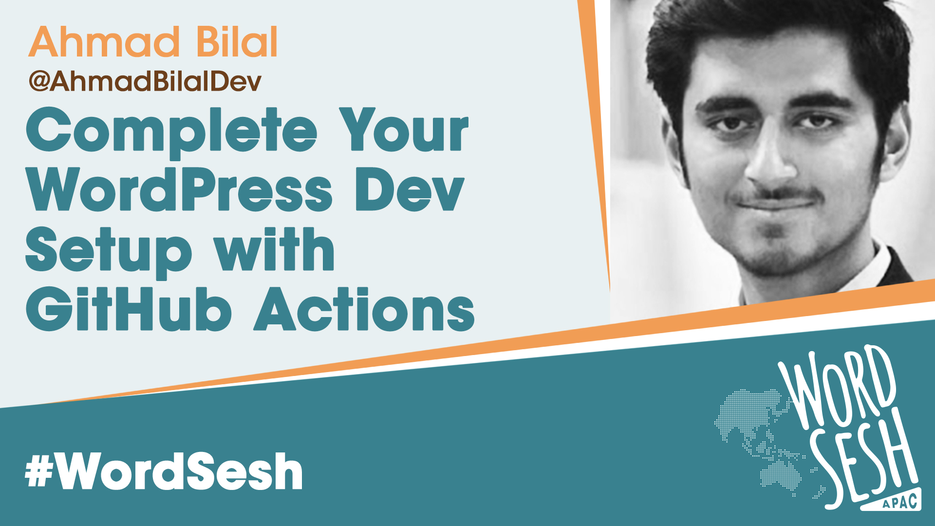 Title slide for: Complete WordPress Development Setup with GitHub Actions