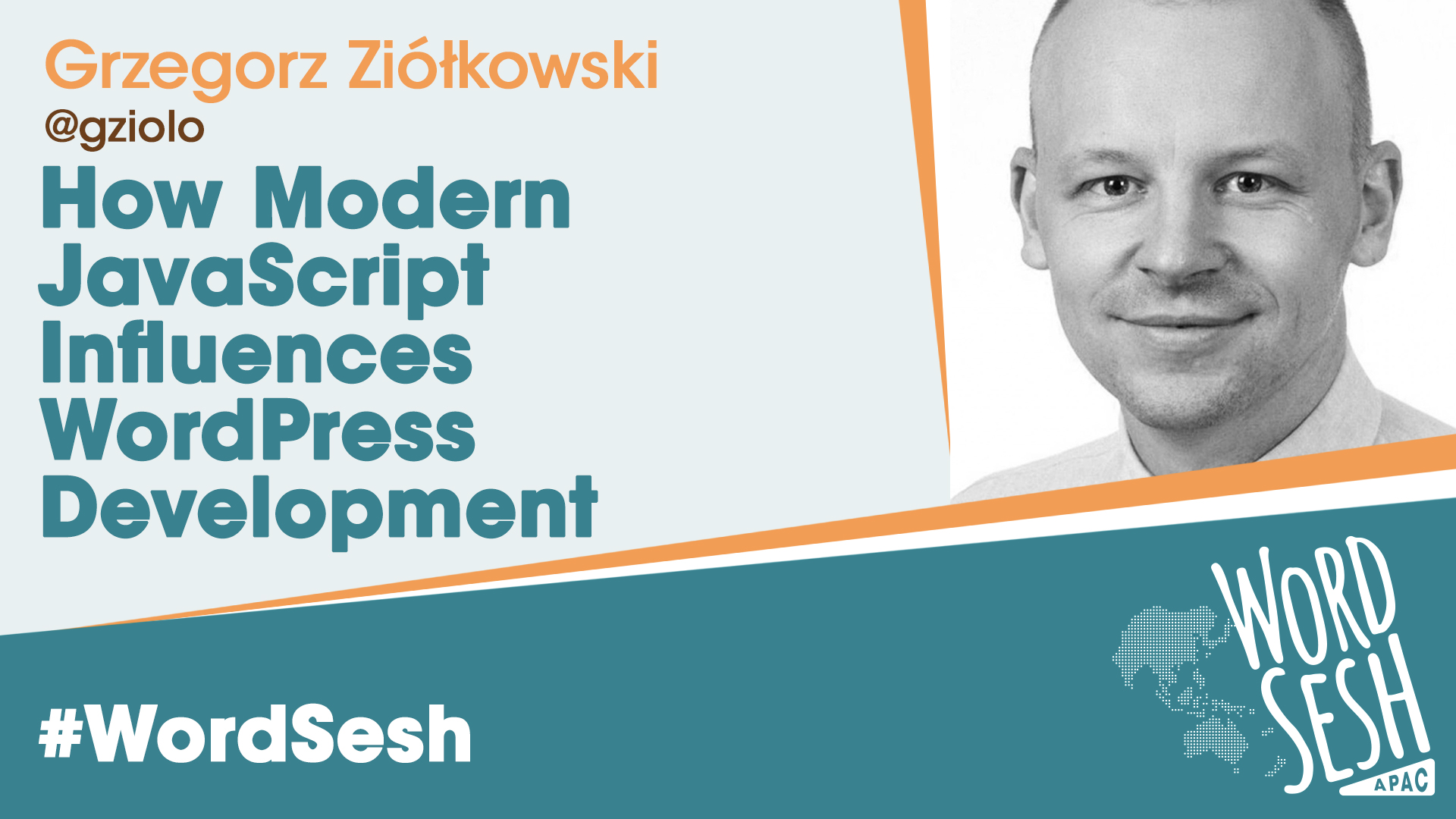 Title slide for: How Modern JavaScript Influences WordPress Development
