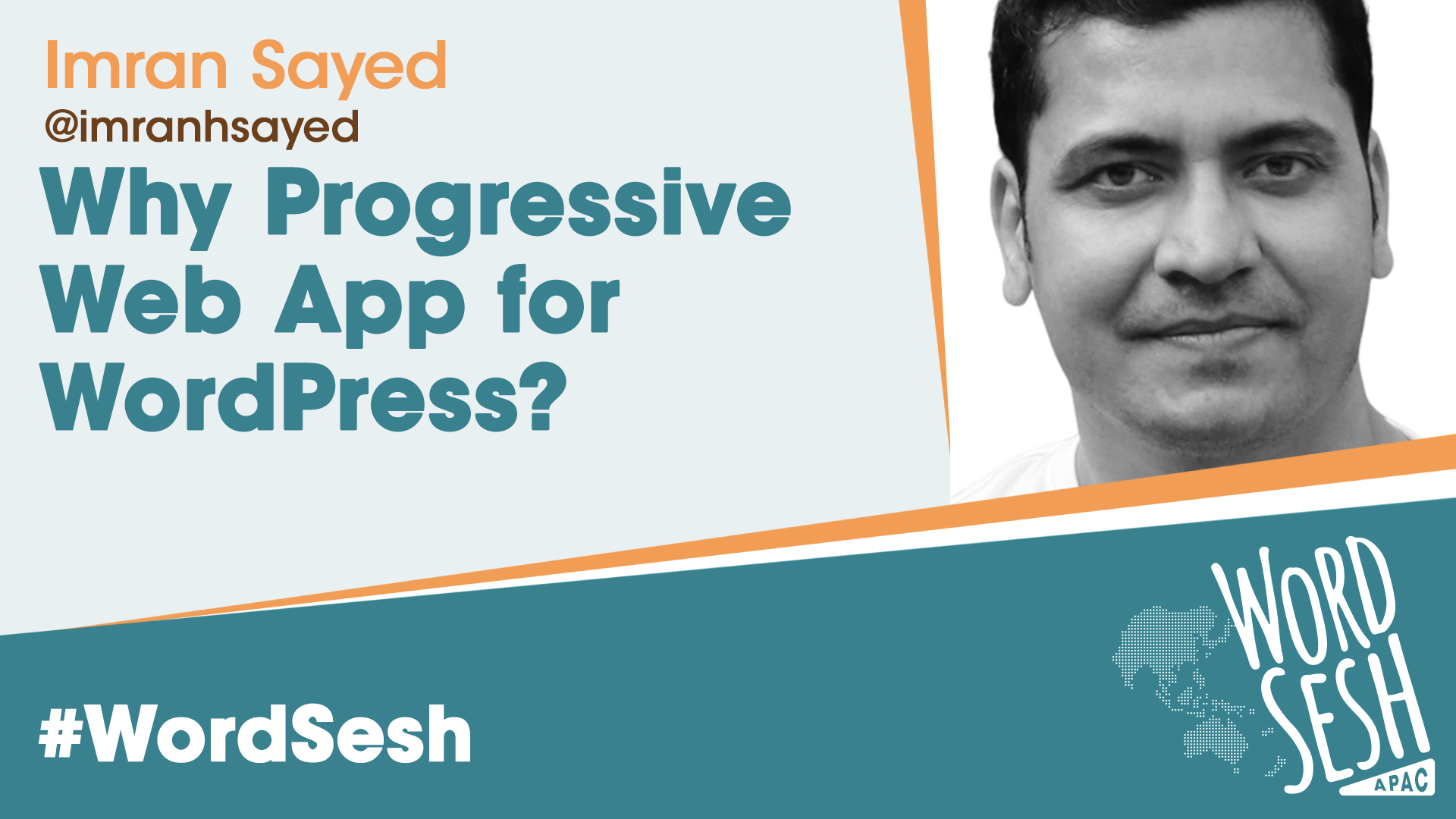 Title slide for: Why Progressive Web App for WordPress?