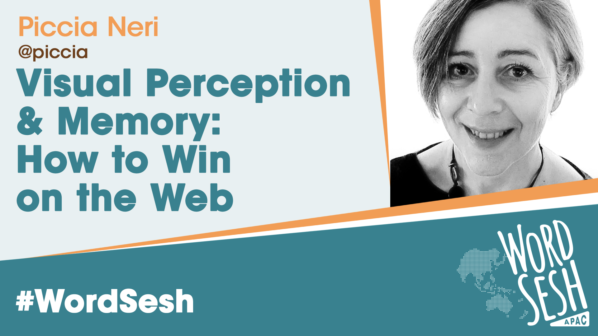 Title slide for: Visual perception and memory: how to win on the web with better visual communication