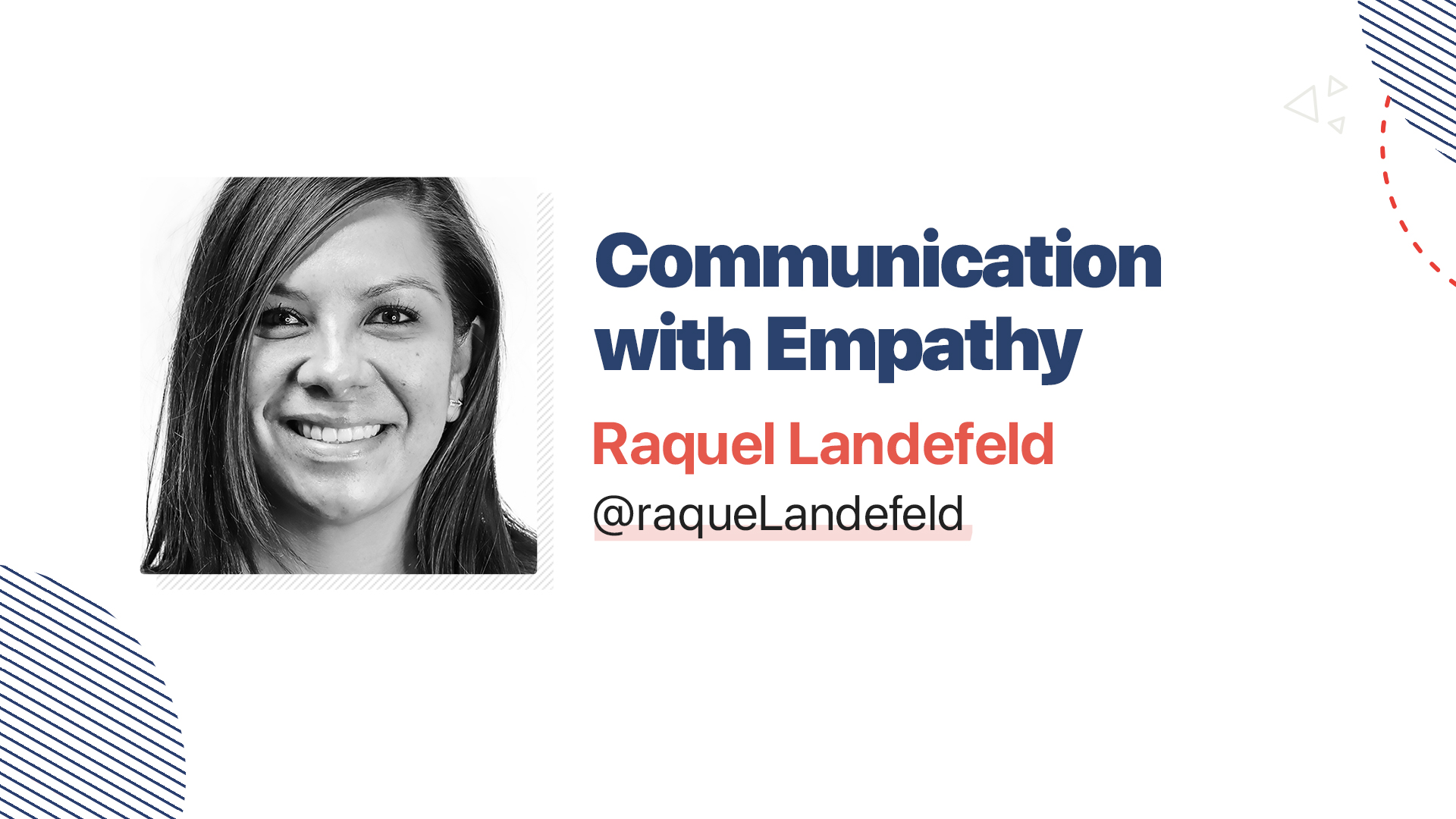 Title slide for: Communication with Empathy