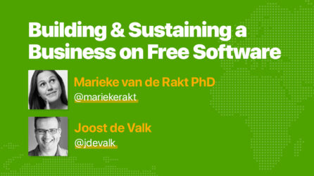 Photo of Marieke van de Rakt PhD & Joost de Valk
